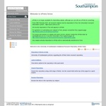 University of Southampton EPrints - Soton